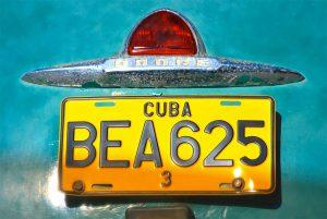 Habana Cuba classic car dodge tour