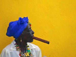 Havana Cuba woman cigar