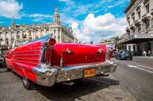 Havana Cuba classic vintage 1950's car
