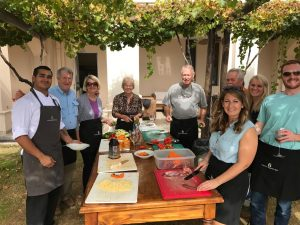 2017 Argentina Couples Trip Mendoza wine cooking lesson