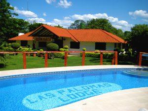 Las Palomas Lodge pool Bolivia